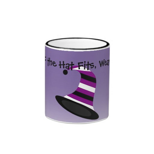 Taza del gorra de Halloween de la bruja