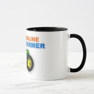 """Taza del """"granjero en línea"""""""