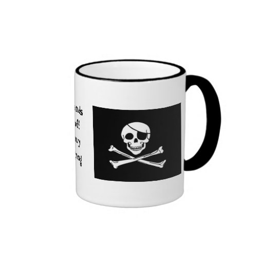 Taza del grog del pirata