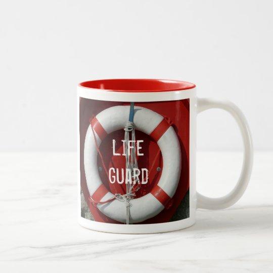 Taza del guardia de vida