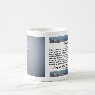 Taza del halcón de peregrino
