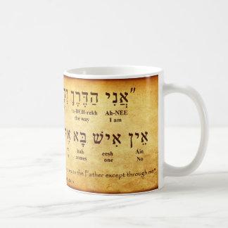 TAZA DEL HEBREO DEL 14:6 DE JUAN