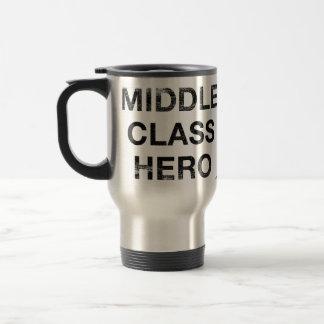 Taza del héroe de la clase media