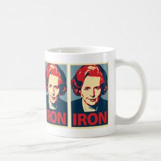 """Taza del """"hierro"""" de Margaret Thatcher"""