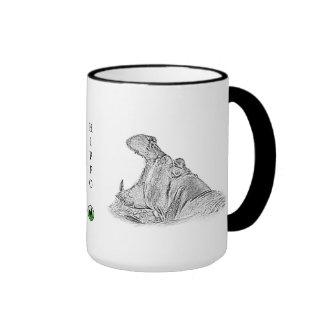 Taza del hipopótamo - serie de África