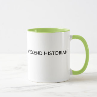 TAZA DEL HISTORIADOR DEL FIN DE SEMANA
