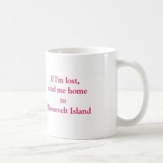 Taza del hogar de la isla de Roosevelt