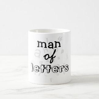 Taza del hombre de letras