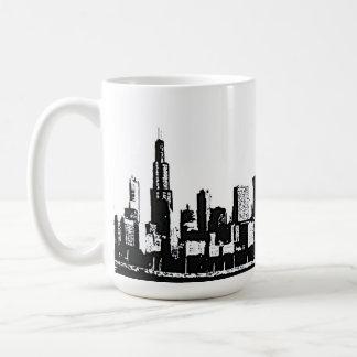 Taza del horizonte de Chicago