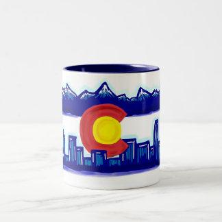Taza del horizonte de Colorado