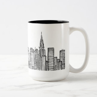 Taza del horizonte de Nueva York