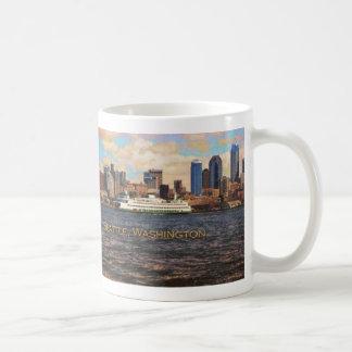 Taza del horizonte de Seattle