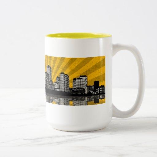 Taza del horizonte de St. Louis (amarillo)