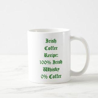 Taza del humor del café irlandés