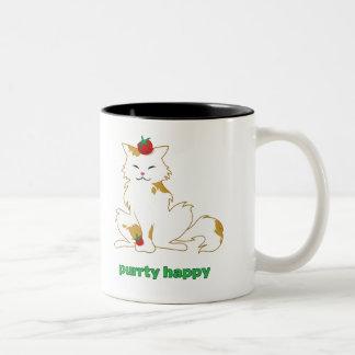 Taza del humor del gato de Campari