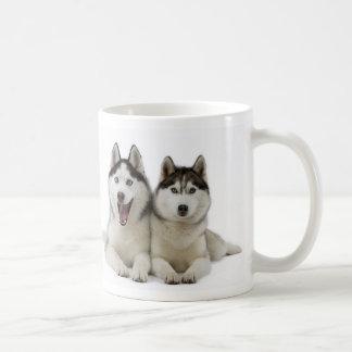 Taza del husky siberiano