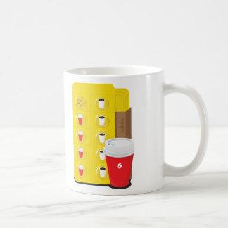 taza del illust del apego del café
