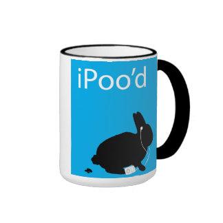 taza del impulso del conejito del iPoo'd