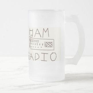 Taza del indicativo del equipo de radio-aficionado