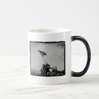 Taza del infante de marina de Iwo Jima