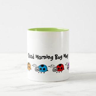 Taza del insecto de la buena mañana