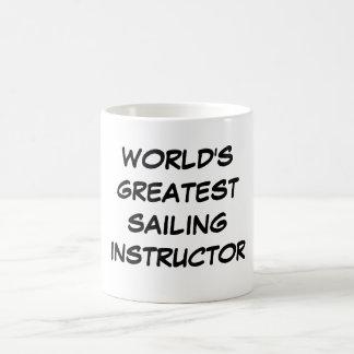 """""""Taza del instructor más grande de la navegación Taza"""