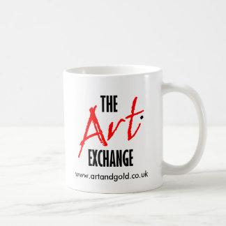 Taza del intercambio del arte
