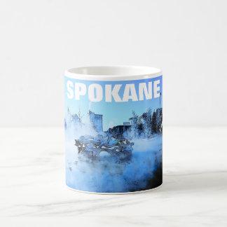 Taza del invierno de Spokane
