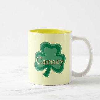 Taza del irlandés de Carney