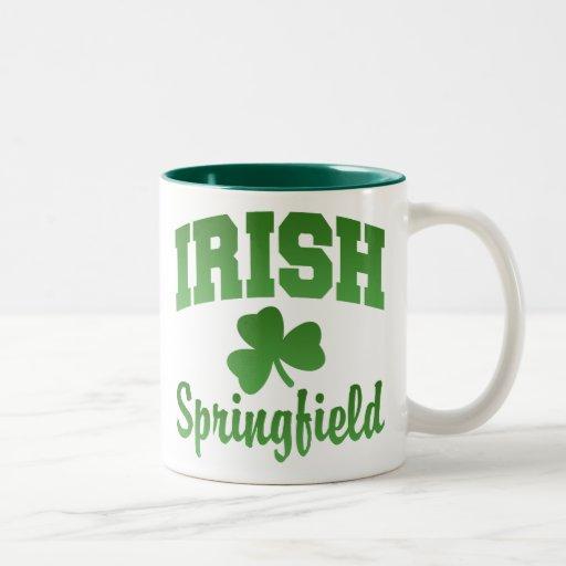 Taza del irlandés de Springfield