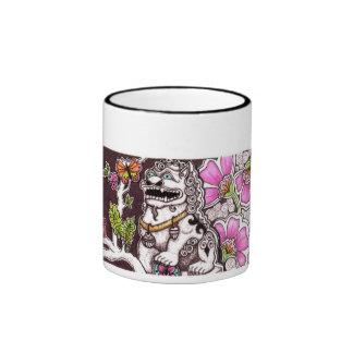 Taza del jardín del perro de Foo