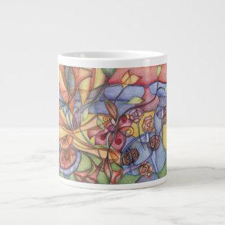 taza del jardín tazas extra grande