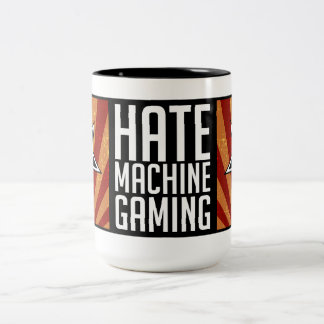 Taza del juego de la máquina del odio - propaganda