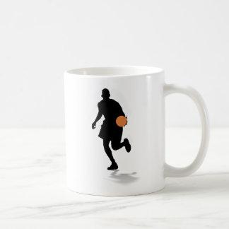 Taza del jugador de básquet