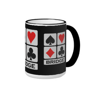 Taza del jugador de puente - elija el estilo y el