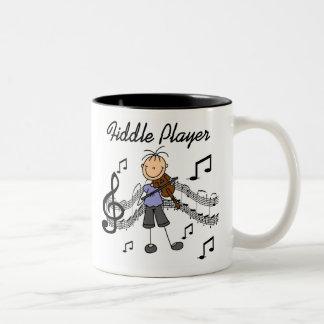 Taza del jugador del violín