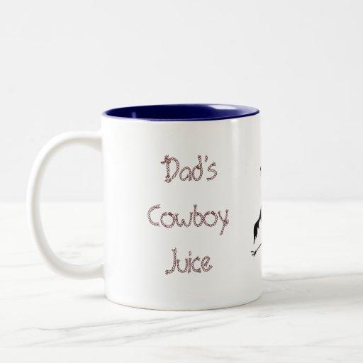 Taza del jugo de Dad'sCowboy