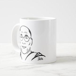 Taza del jumbo de Dalai Lama -- 20oz. Taza Grande
