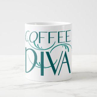 Taza del jumbo de la diva del café taza grande