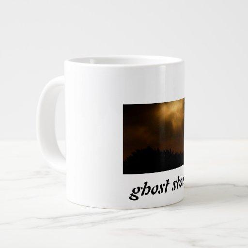 Taza del jumbo de la historia de fantasmas taza jumbo