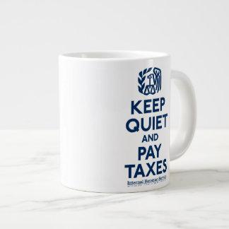Taza del jumbo de la parodia del IRS Tazas Jumbo