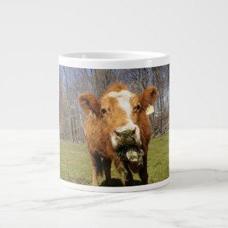 Taza del jumbo de la vaca taza grande