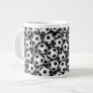 Taza del jumbo de los balones de fútbol taza grande