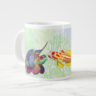 Taza del jumbo de los pescados del gobio del filón taza grande