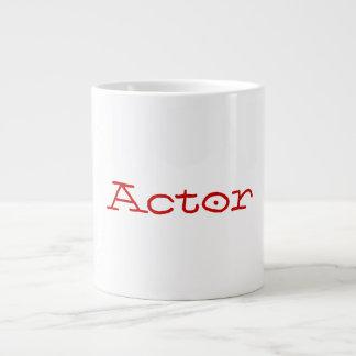 Taza del jumbo del actor tazas jumbo