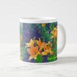 Taza del jumbo del jardín 4 del papá taza extra grande