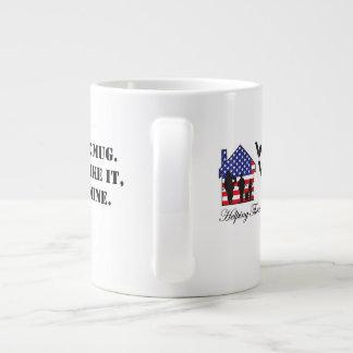 Taza del juramento del café de WWH Taza Extra Grande