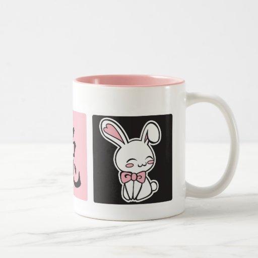 Taza del kanji del conejo