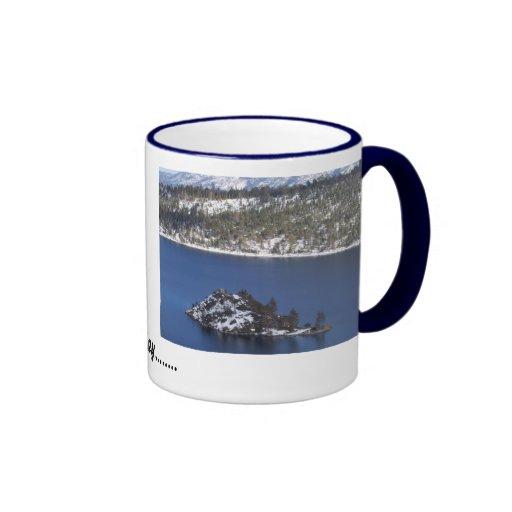 Taza del lago Tahoe