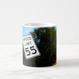 Taza del límite de velocidad 55
